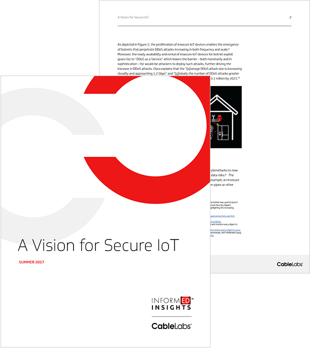 A Vision for Secure IoT